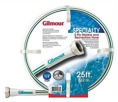 Gilmour 12058025 Marine & Recreation Hose, 25'