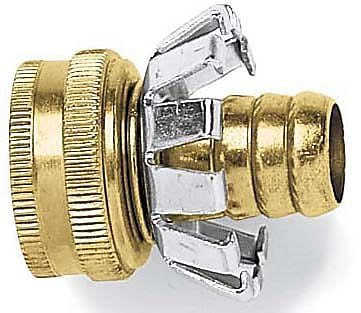Gilmour C12F Female Brass Coupler, 1/2