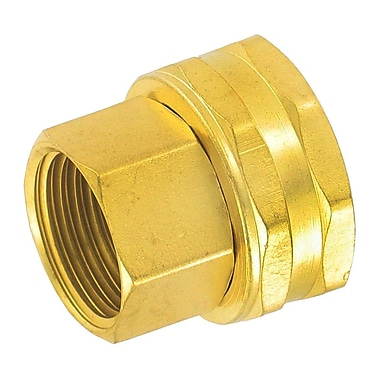 Gilmour 7FPS7FH Double Female Swivel Brass Connector