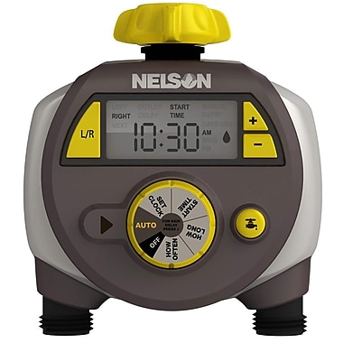 Nelson 56612 Electric Timer, Dual Outlet