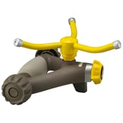 Nelson 50240 Three Arm Rotatory Sprinkler, Yellow