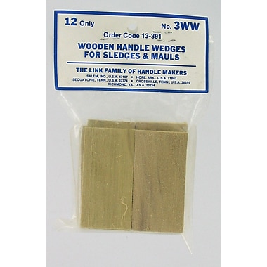 Seymour 013-391 Wooden Handle Wedges for Sledges and Mauls