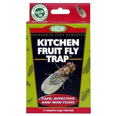 SpringStar Inc. S415 BioCare Kitchen Fruit Fly Trap, 2 Pack