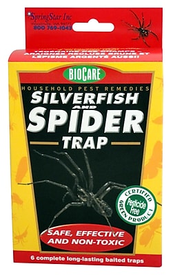 SpringStar Inc. S206 Spider and Silverfish Trap, 6 Count