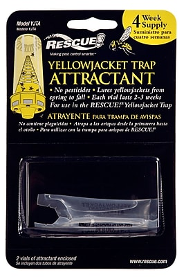 Rescue YJTA-DB36 4 Week Yellow Jacket Trap Attractant