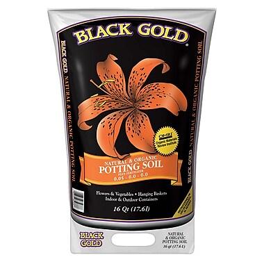 Black Gold 1402040 16 QT U Quart All Organic Potting Soil