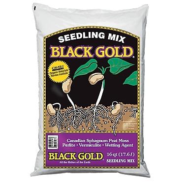 Black Gold 1411002 16 QT U Quart Seedling Mix