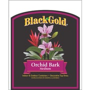 Black Gold 1411402 Orchid Bark Medium Fertilizer, 8 qt.