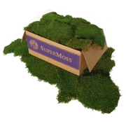 Super Moss 21508 Green Sheet Moss, 5 lbs.