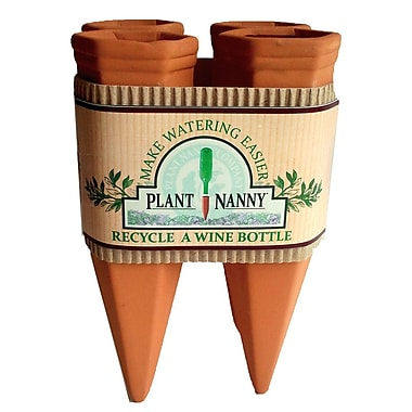 The Plant Nanny Wine Bottle Stakes, 4 Count