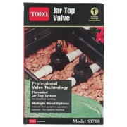 "Toro 1"" Jar Top In-line Valve"