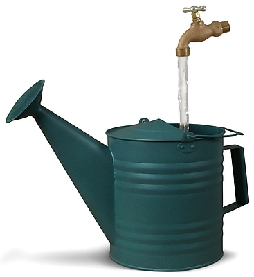 Universal Home & Garden VG-1 Fantasy Fountains Verdigris Watering Can Fountain