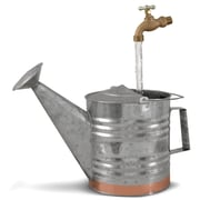 Universal Home & Garden GC-4 Fantasy Fountains Galvanized & Copper Watering Can Fountain