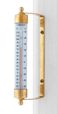 Conant Custom Brass T1FLB Thermometer