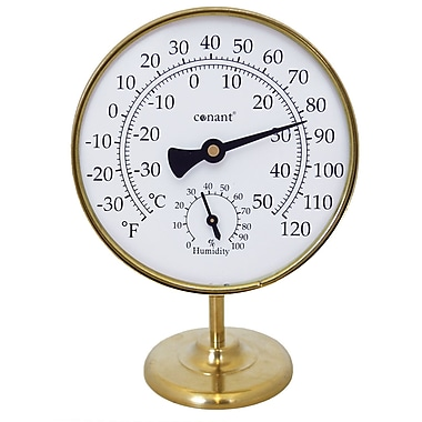 Conant Custom Brass TH20LFB Dial Thermometer