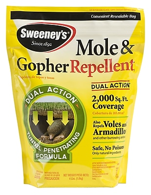 Woodstream S7001-1 4 lbs. Sweeney's Mole & Gopher Repellent