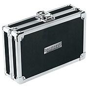 "Vaultz® 2 1/4"" x 8 1/4"" Locking Pencil Box, Black"