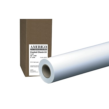 PM Company® Amerigo® Bond Inkjet Coated 99 Brightness 2