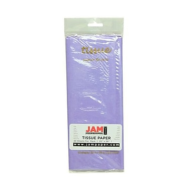 JAM Paper® Tissue Paper, Lilac Purple, 10 packs of 10 (211515213g)