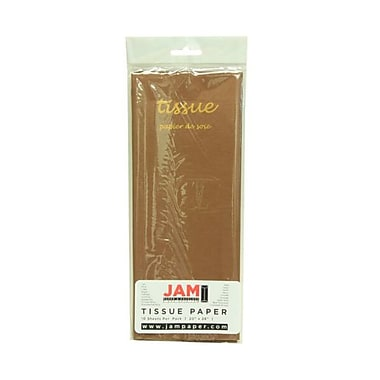 JAM PaperMD – Papier de soie, brun, 10 paquets de 10 (1152349g)