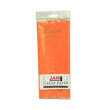 JAM Paper® Tissue Paper, Orange, 10 packs of 10 (1152361g)