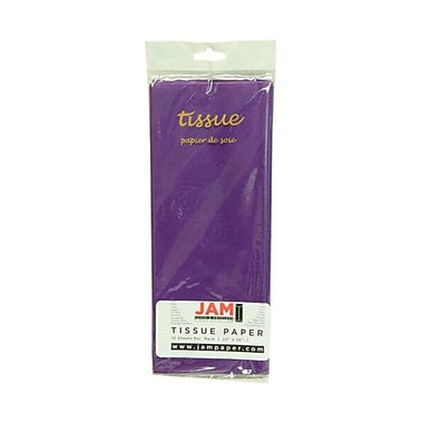 JAM PaperMD – Papier de soie, violet, 10 paquets de 10 (1152355g)