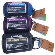 "WillLand Outdoors Microfiber Travel Towel , 27"" x 53"" x 0.2"", Purple"