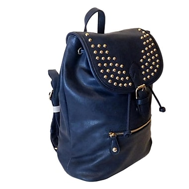 Lithyc Kai Vogue Studded Backpack, Blue