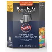 Timothy's – Mélange du petit déjeuner, recharges K-Cup