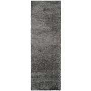"Safavieh California Shag Runner, 27"" x 84"", Dark Grey (SG151-8484-27)"