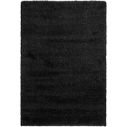"Safavieh California Shag Area Rug, 36"" x 60"", Black (SG151-9090-3)"