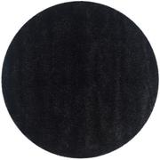 "Safavieh California Shag Area Rug, 80"" x 80"", Black (SG151-9090-7R)"