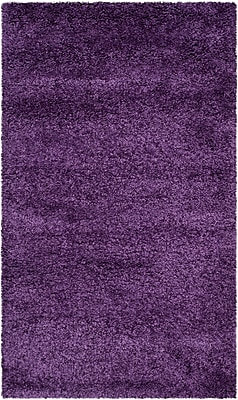 Safavieh Milan Shag Medium Rectangle Area Rug, 6' x 9', Purple
