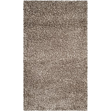 Safavieh Milan Shag Small Rectangle Area Rug, 3' x 5', Gray