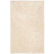 Safavieh Classic Ultra Shag Medium Rectangle Area Rug, 6' x 9', White