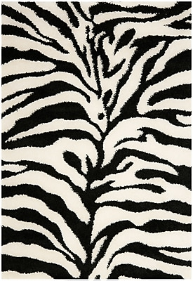 Safavieh Zebra Shag Medium Rectangle Area Rug, 5' 3