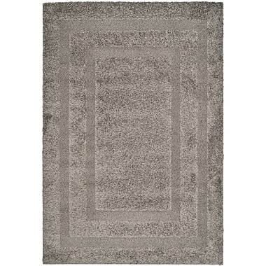 Safavieh Shadow Box Shag Large Rectangle Area Rug, 8' x 10', Gray