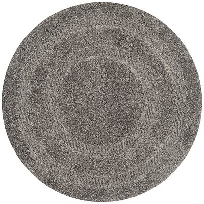Safavieh Shadow Box Shag Round Area Rug, 6' 7