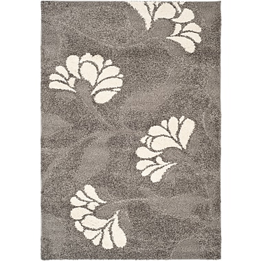Safavieh Florida Lindsay Shag Rectangle Area Rug, 6' x 9', Gray/Beige