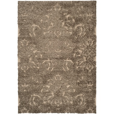 Safavieh Florida Kelly Shag Large Rectangle Area Rug, 8' x 10', Smoke/Beige