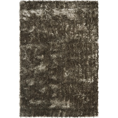 Safavieh Paris Shag Medium Rectangle Area Rug, 6' x 9', Silver