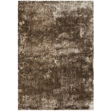 Safavieh Paris Shag Medium Rectangle Area Rug, 5' x 7', Sable Brown