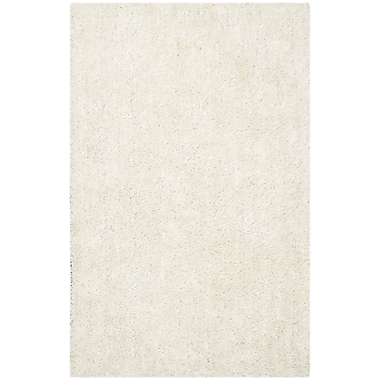 Safavieh New Orleans Shag Small Rectangle Area Rug, 4' x 6', Off White
