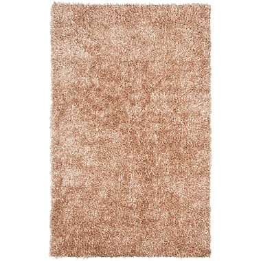 Safavieh New Orleans Shag Large Rectangle Area Rug, 8' x 10', Beige