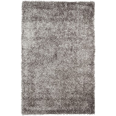 Safavieh New Orleans Shag Small Rectangle Area Rug, 4' x 6', Gray