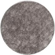 Safavieh New Orleans Shag Round Area Rug, 5' x 5', Gray