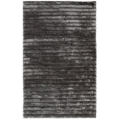 Safavieh 3D Sorrel Shag Rectangle Area Rug, 5' x 8', Silver