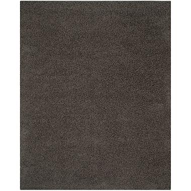 Safavieh Athens Shag Large Rectangle Area Rug, 8' x 10', Dark Gray
