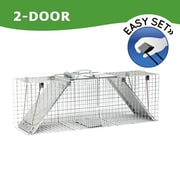 Havahart Steel Large 2-Door Easy Set Trap