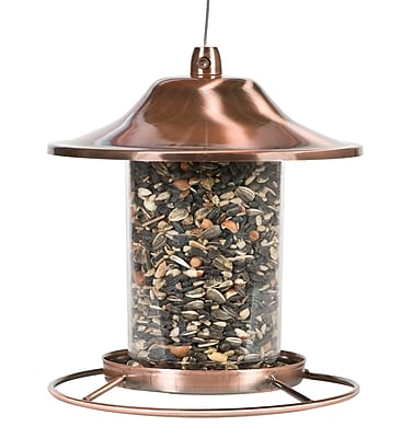 Perky-Pet Copper Panorama Bird Feeder (1266835) photo